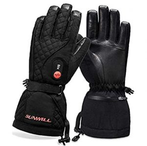 Sun Will Battery Glove with heat for Men