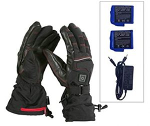 Heated Gloves for Men Women Li-ion Battery Warm Gloves for Cycling Motorcycle Hiking Skiing Mountaineering
