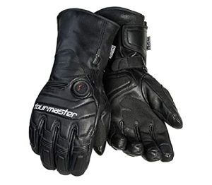 Tour Master Synergy 7.4V Mens Leather Street Racing electric Motorcycle Gloves