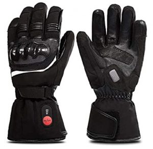 savior heat electric motorcycle winter glove