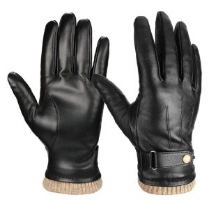 Ozero winter leather gloves