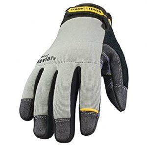 Kevlar cold weather gloves