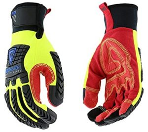 West Chester 87810 XL R2 Reinforced Comfort Impact Glove, XL, Multi-Colored