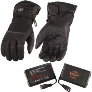 milawukee leather heated gloves