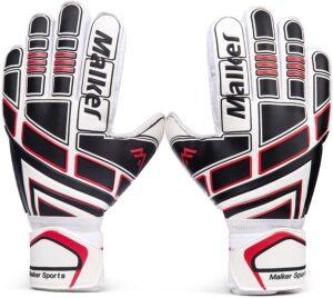Malker Soccer Goalie Gloves Goalkeeper Glove